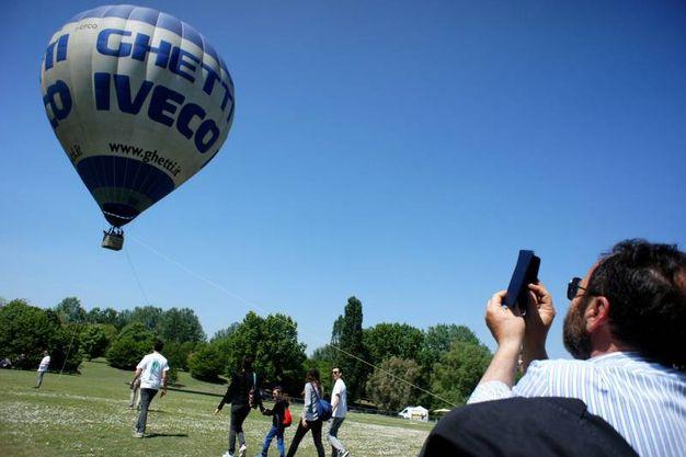 Presenti una decina di giganti dell'aria (foto LaPresse)