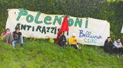 """Concerto antirazzista a Pontida: l'""""orgoglio meridionale"""" declinato su striscioni e magliette"""