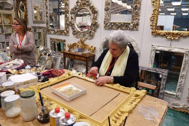 La mostra dell'artigianato di Firenze (foto Luca Moggi/New Pressphoto)