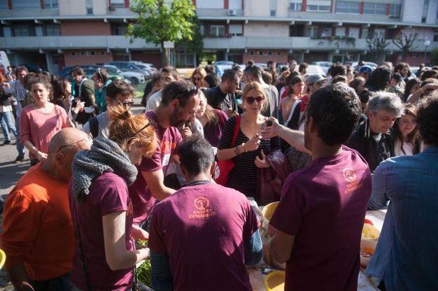 Come ogni anno, il festival attira tantissime persone (foto Schicchi)