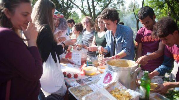 Gran Festival della Zuppa a Bologna (foto Schicchi)