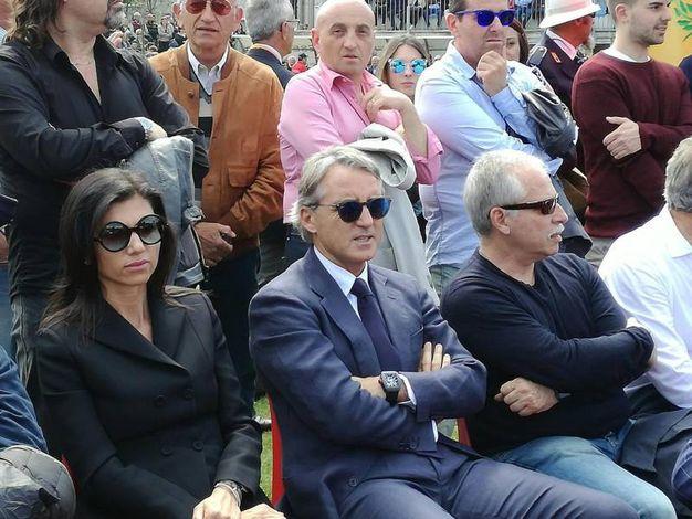 Partecipa anche Roberto Mancini (foto Ansa)