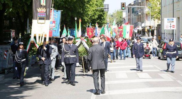 Manifestazione 25 aprile (foto Ravaglia)