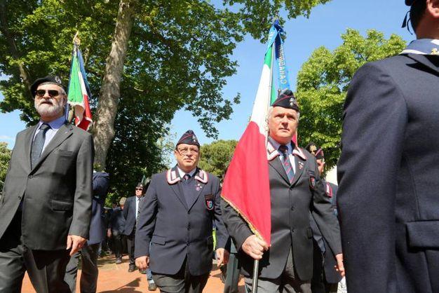 Celebrazione del 25 aprile a Cesena (foto Ravaglia)