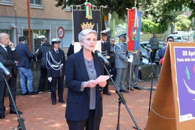 Presente anche la senatrice Mara Valdinosi (foto Ravaglia)