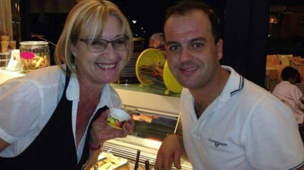 Ketty Lodovichetti e Giovanni Simoncini, ormai ex titolari dello storico bar Holly