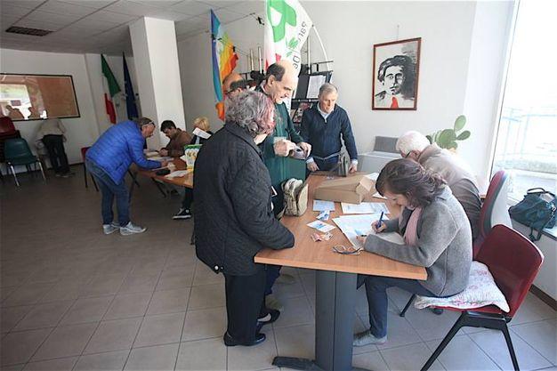 Problemi enormi del post terremoto, che incidono anche sulla logistica del voto (foto Antic)