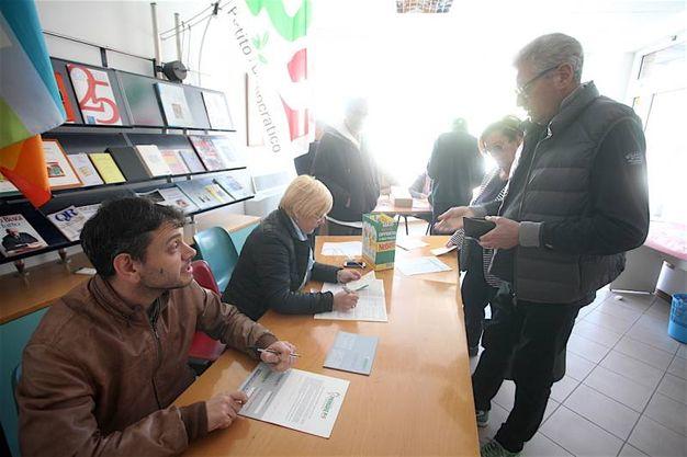 Primarie Pd ad Ancona (foto Antic)