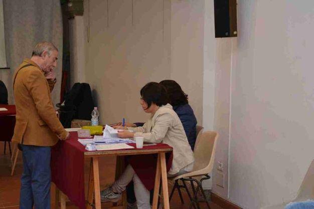 Primarie Pd, il voto a Livorno (Lanari)