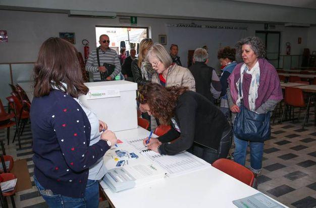 Primarie Pd, il voto a Empoli (Germogli)