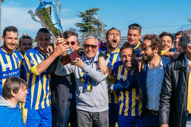 Si chiude in bellezza, battendo 1-0 l'Alfonsine, goal di Molinari (foto Zeppilli)