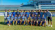 Tutta la squadra della Fermana (foto Zeppilli)