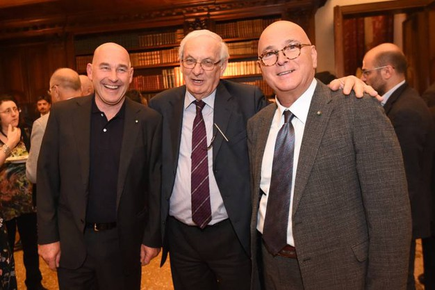 Andrea Riffeser Monti, Giorgio Tabellini e Giorgio Zagnoni (Schicchi)