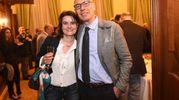 Carlo Dall'Oppio con la moglie (Schicchi)