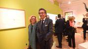 Valentino Di Pisa con la moglie (Schicchi)