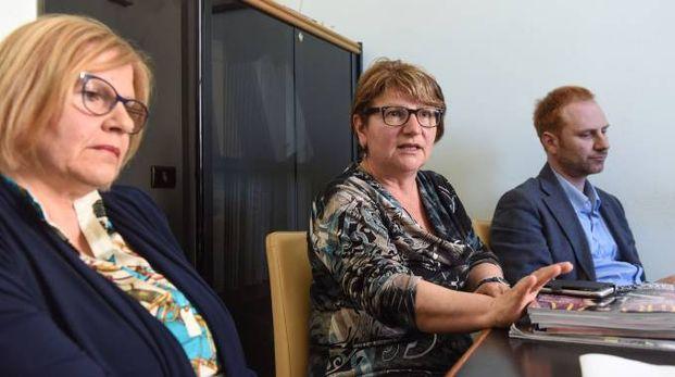 CONSIGLIO DI AMMINISTRAZIONE Maria Luisa Melatini, Anna Maria Rinaldelli e il presidente Alessandro Brandoni (De Marco)