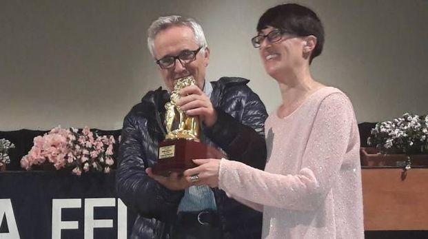 Marco Bellocchio riceve il premio Marzocco