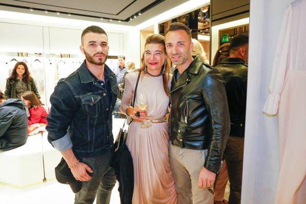 """Festa di apertura della boutique """"Elisabetta Franchi"""" in Galleria Cavour (fotoSchicchi)"""