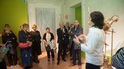 La serata è cominciata con la visita guidata della mostra (Schicchi)