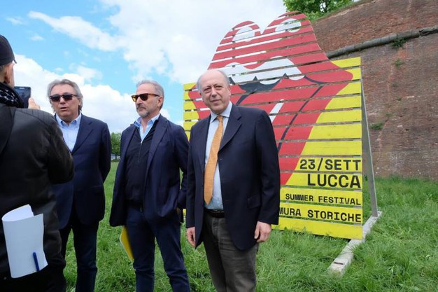 Adolfo Galli, Mimmo D'Alessandro e il sindaco Alessandro Tambellini