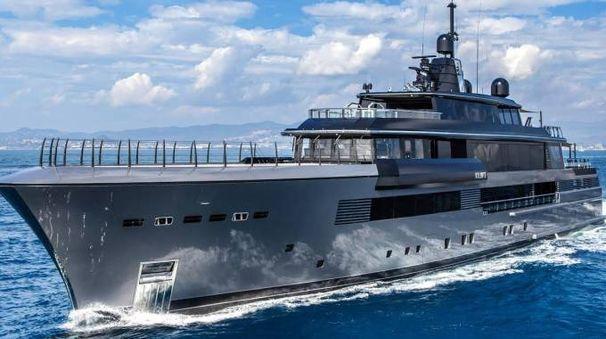 Atlante, il superyacht del cantiere CRN del gruppo Ferretti, sarà l'ammiraglia del salone viareggino