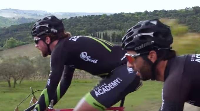 Dan Craven e Aviv Yechezkel della Israel Cycling Academy