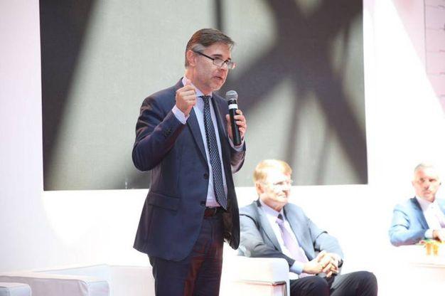 Il viceministro per le Politiche agricole, Andrea Olivero (foto Ravaglia)