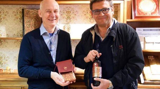 Andrea Calistri (a sinistra) e Pier Francesco Bertini