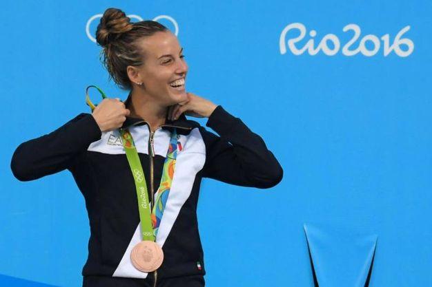 La medaglia di bronzo alle Olimpiadi di Rio 2016 (LaPresse)