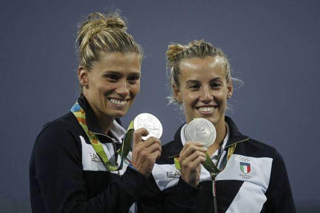Tania Cagnotto e Francesca Dallapè (Olycom)