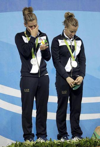 Le lacrime a Rio (Ansa)