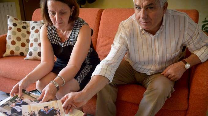 Mamma Carmelina e papà Rosario Costanza