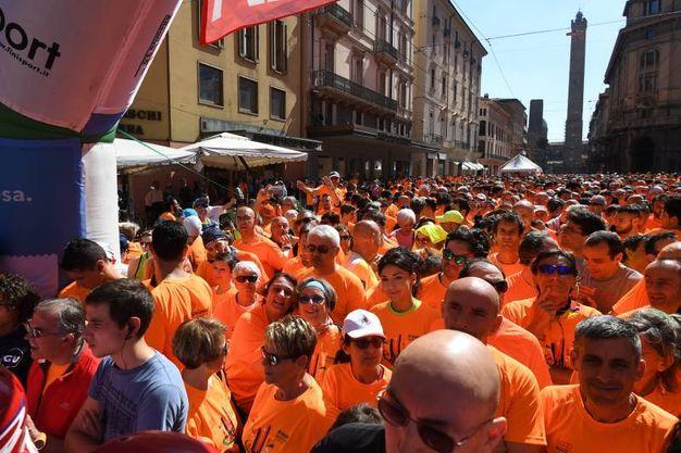 Tantissimi partecipanti all'ormai classica corsa o camminata non competitiva organizzata dalla Uisp (fotoSchicchi)
