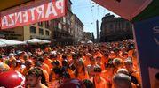 I partecipanti alla StraBologna si sono lanciati nei tre percorsi previsti da 3,8; 7,7 e 12,5 chilometri (fotoSchicchi)