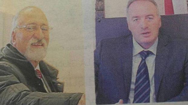 Da sinistra, Sandro Luciani e Massimo Citracca