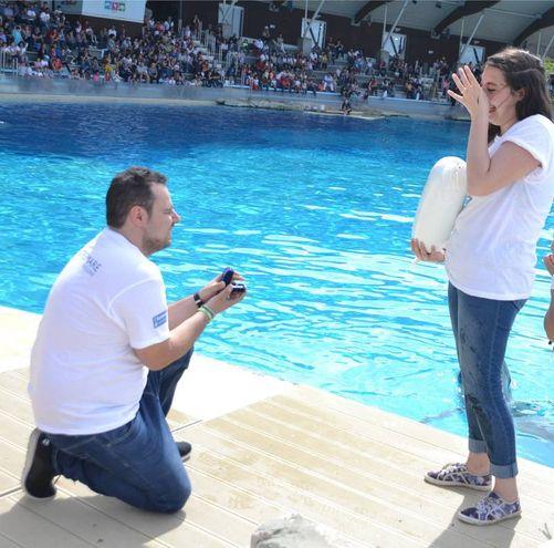 Simone Belliero e Marta Lo Sardo, proposta di matrimonio a Oltremare