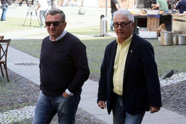 Vito e Comaschi (foto Schicchi)