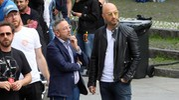 Barbieri e Joe Bastianich (foto Schicchi)