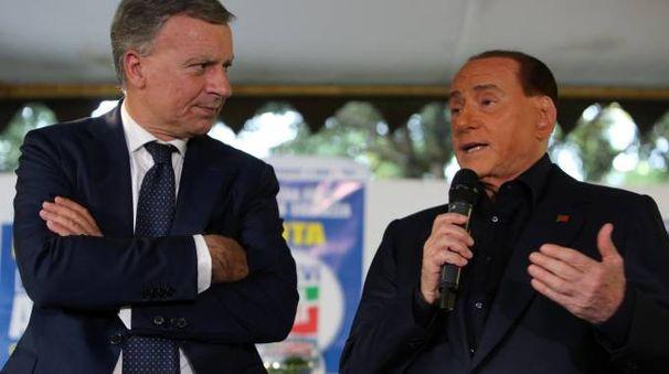 Berlusconi con Dario Allevi