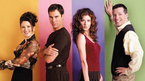 Il cast principale di 'Will & Grace' – Foto: NBC