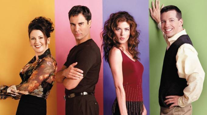 Il cast principale di 'Will & Grace' – Foto: NBC