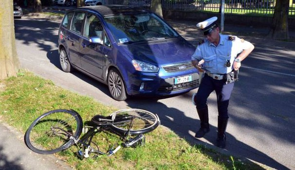 Incidente a Codogno, investito ciclista (Gazzola)