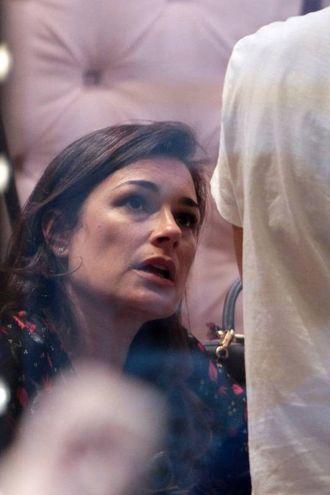 Alena Seredova in via Montenapoleone (Lapresse)