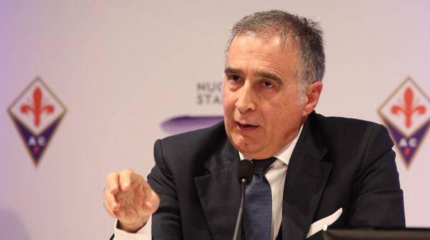 Il presidente esecutivo della Fiorentina, Mario Cognigni (Germogli)