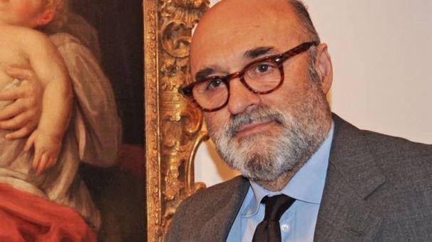 L'antiquario pesarese Giancarlo Ciaroni