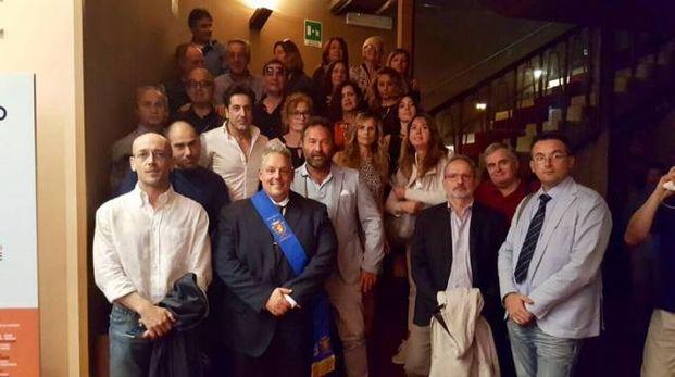La delegazione grossetana a Roma