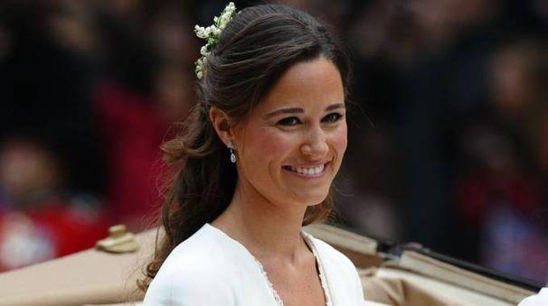 Pippa Middleton damigella alle nozze di Kate, nel 2011 (Afp)
