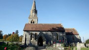La chiesa dove si terrà il matrimonio (Lapresse)