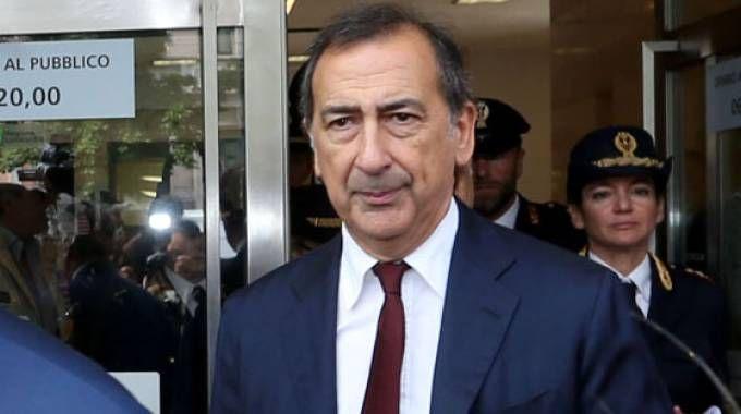Il sindaco Sala (La Presse)