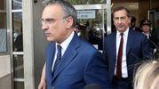 Il Questore Marcello Cardona e il sindaco Giuseppe Sala (La Presse)
